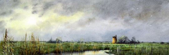 Watercolour: Natural Spotlight, Broadland