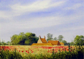 Norfolk prints - An example of a mounted reproduction that you may buy here